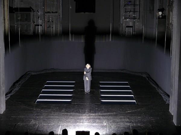 Mark Lammert - DIE HAMLETMASCHINE, 2007, für Dimiter Gotscheff, Deutsches Theater Berlin