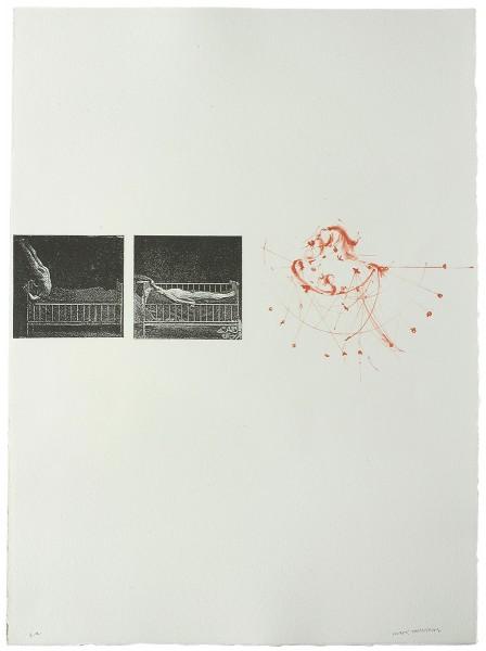Mark Lammert - KOLUMNE, 1998-2002, Lithographie, 62 x 48 cm