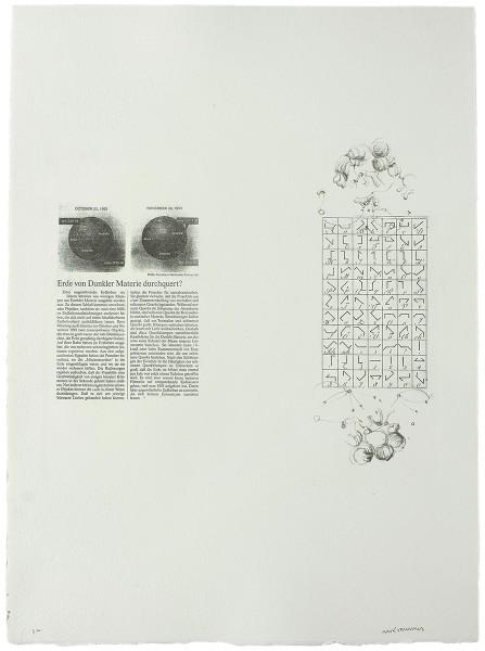 Mark Lammert - COLUMN, 1998-2002, lithograph, 62 x 48 cm