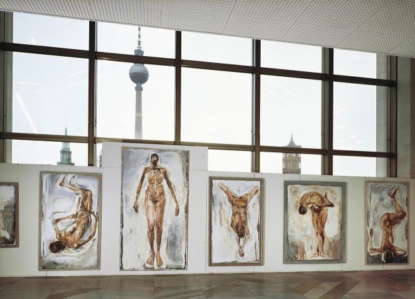 Mark Lammert - Occupied, Palast der Republik, Berlin, 1990