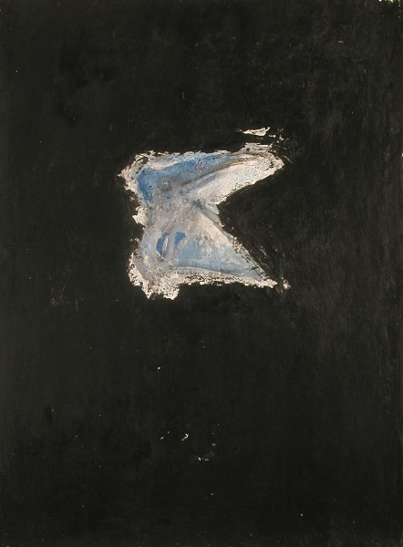 Mark Lammert - BLACK, 2002-2004, oil on canvas, 40 x 30 cm