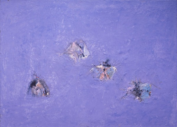 Mark Lammert - FLOATERS, 2005-2009, oil on canvas, 50 x 70 cm