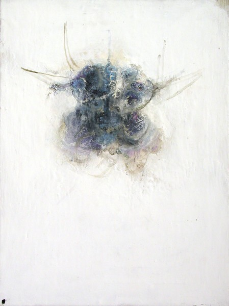WHITE, 2002-2004, oil on canvas, 40 x 30 cm