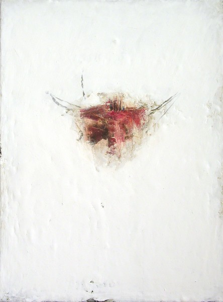 Mark Lammert - WHITE, 2002-2004, oil on canvas, 40 x 30 cm