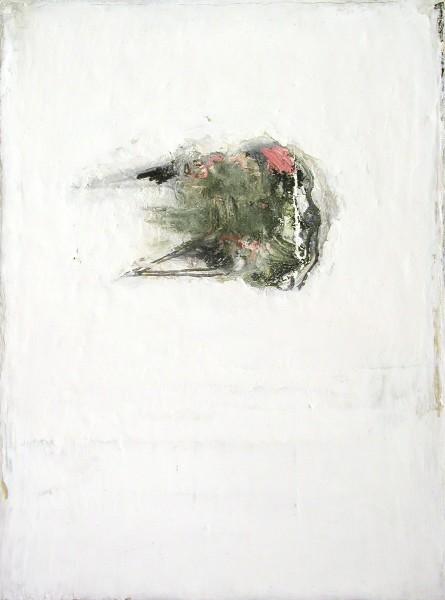 Mark Lammert - WEISS, 2002-2004, Öl auf Leinwand, 40 x 30 cm